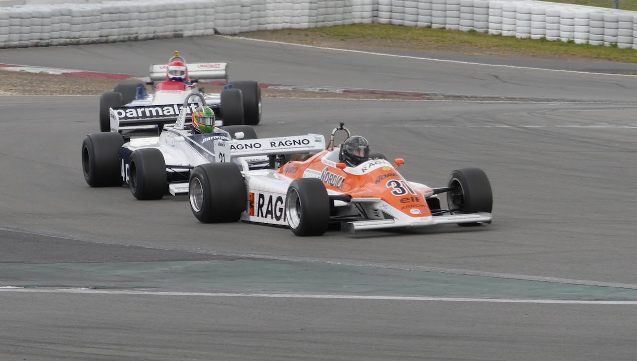 Historic Formula Cars At Oldtimer Grand Prix Nurburgring Fia