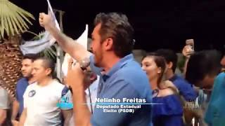 Nelinho Freitas PSDB, Deputado Estadual Eleito, agradece a todos pela belíssima Votação