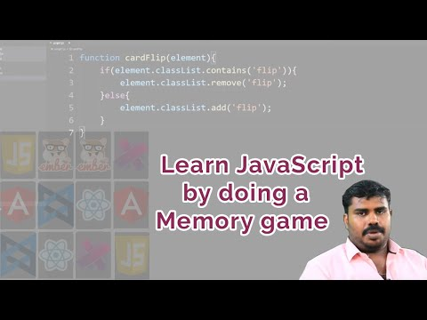 Part 2 Learn JavaScript by doing a Memory game | Each One Teach One thumbnail