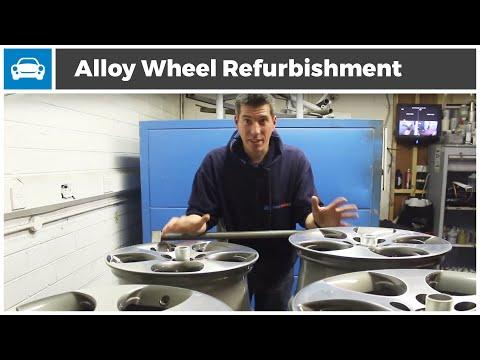 Alloy Wheel Refurbishment - MicksGarage.com Project GTi