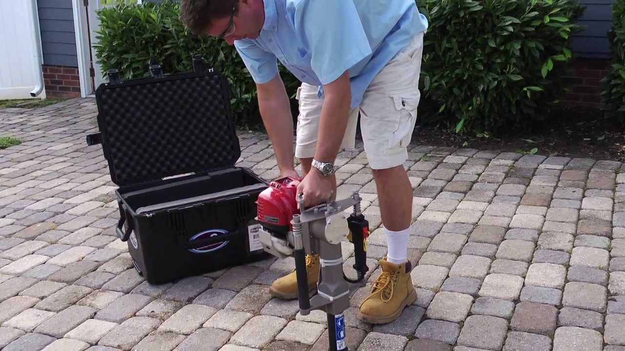 Post Pounder Rental Home Depot Gas Powered Post Pounders Make Fence Installation Easy