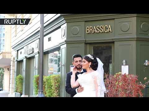 Beirut blast interrupts wedding photoshoot