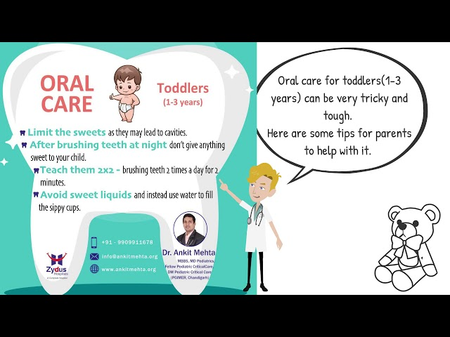 Oral Care by Dr. Ankit Mehta - Pediatrician in Ahmedabad
