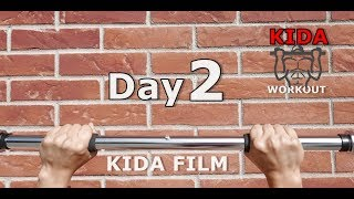 Day 2/30 Pull-Up Calisthenics Workout Challenge