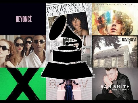 GRAMMY 2015 winners & nominees
