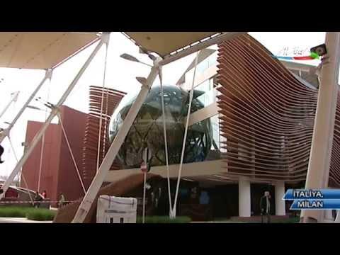 Milan Expo 2015 sərgisində Azərbaycan pavilyonundan reportaj