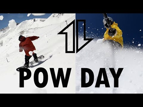 Six Inch Pow Day with DJDC