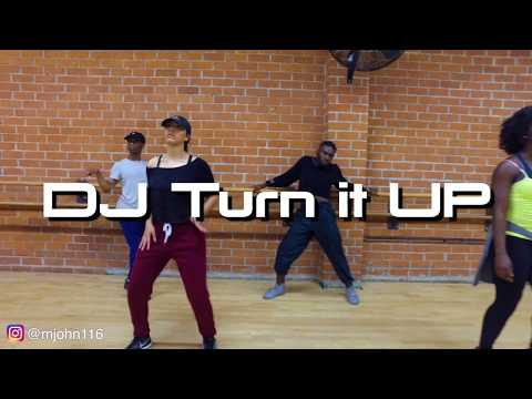 DJ Turn It Up Class Choreography