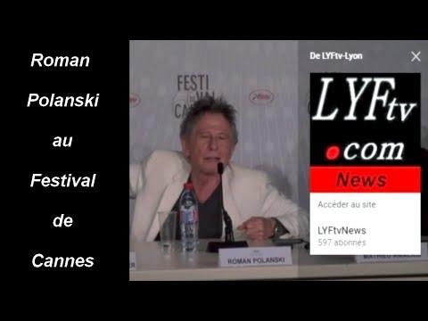Roman Polanski - Conférence de presse au festival de Cannes 2013 - La Vénus à la fourrure