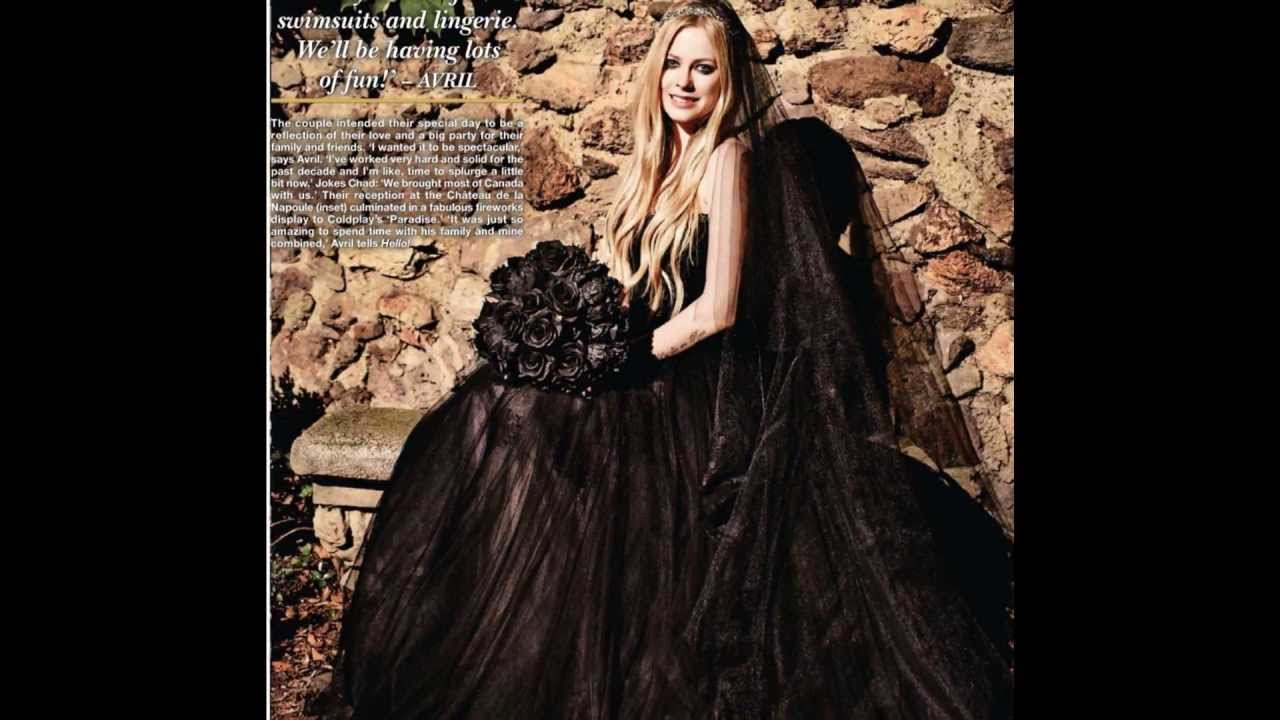 Wedding photos avril lavigne chad kroeger 7113 youtube voltagebd Image collections