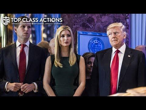 Trump Family Facing Major Lawsuit For Defrauding Investors