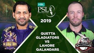 Match 12: Full Match Highlights Quetta Gladiators vs Lahore Qalandars | HBL PSL 4 | HBL PSL 2019
