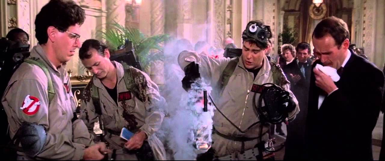 Image result for ghostbusters ray with trap