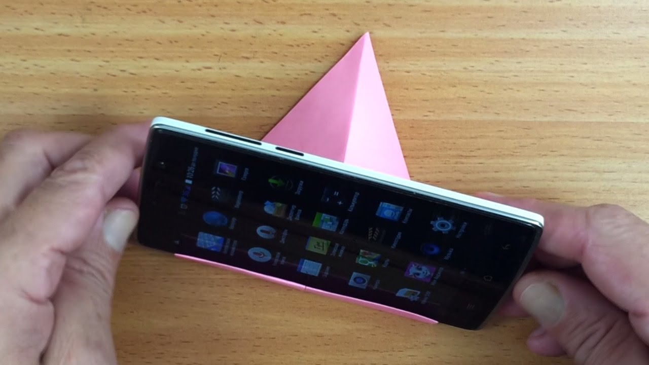 Подставка под телефон своими руками картон фото 952