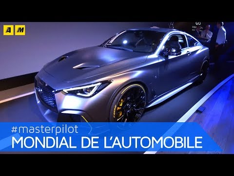 Infiniti Project Black S | Pronta la Q60 con tecnologia ibrida Renault F1 [ENGLISH SUB]