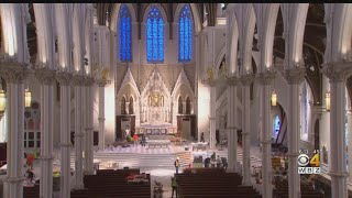 Cathedral Of Holy Cross Ready For Palm Sunday After $26 Million Renovation