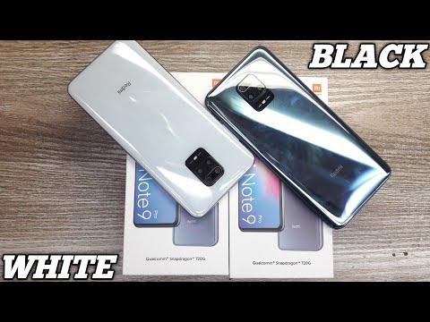 Redmi Note 9 Pro White & Black Unboxing