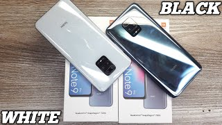 Redmi Note 9 Pro White & Black Unboxing