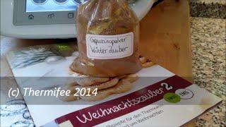 Thermomix TM 5 Cappuccinopulver Winterzauber