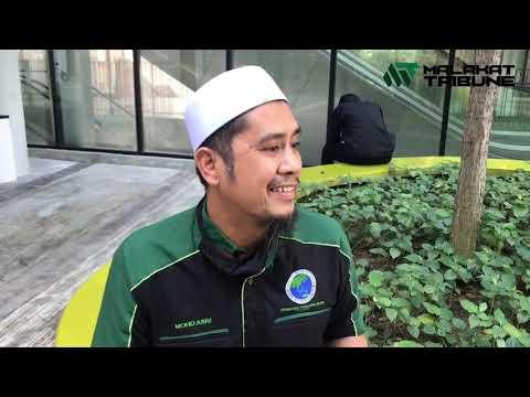 """""""Saya terancam"""" - Peniaga burger tular rakam aktiviti haram di Sg Buloh"""