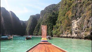 My trip to Koh Phi Phi islands, Thailand Vlog 4K