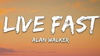 Alan Walker x A$AP Rocky - Live Fast (Lyrics / Lyric Video) PUBGM