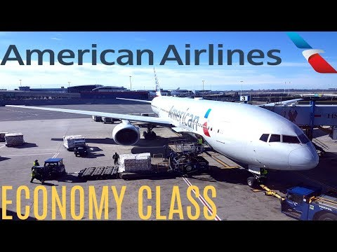 American Airlines ECONOMY CLASS New York To London