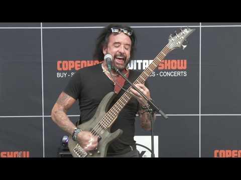 Marco Mendoza Full Clinic At Copenhagen Guitar Show 2019