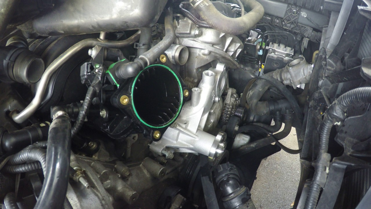 small resolution of 2013 ford f 150 water pump installation replacement 3
