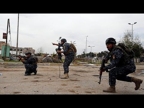 "Iraqi troops ""within metres"" of symbolic mosque in Mosul"