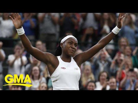 15-year-old Coco Gauff dominates rivals at Wimbledon