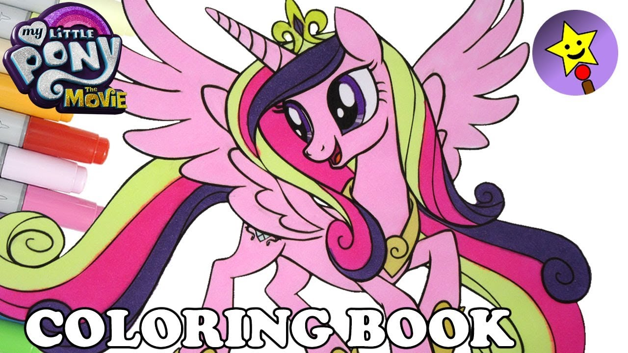 Princess Cadance Coloring Book MLP