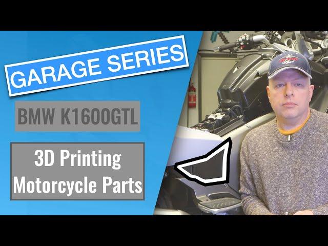 3D printing motorcycle parts.