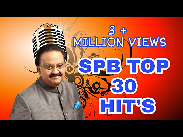 SPB  30 MELODY HITS TAMIL JUKEBOX |  SPB ALL CATEGORY MELODY HITS IN ONE JUKEBOX