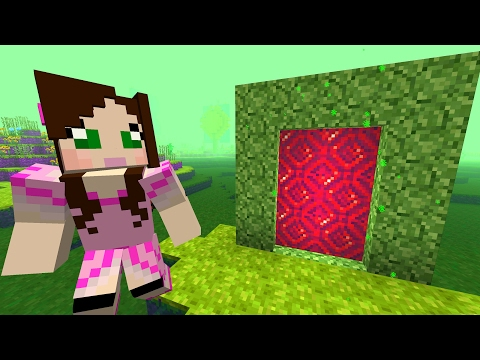 Minecraft: GIANT FLOWER DIMENSION CHALLENGE [EPS9] [42]