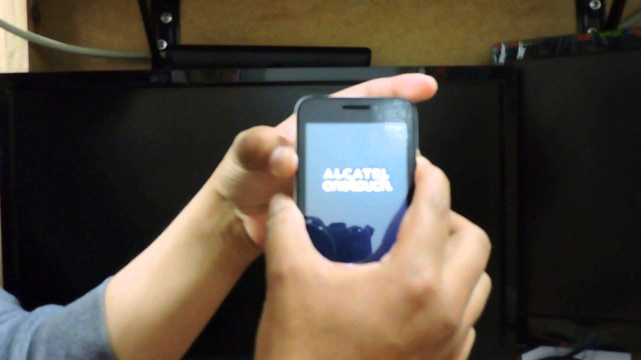 Alcatel Pixi 3 4013m Restaurar O Resetear De Fabrica