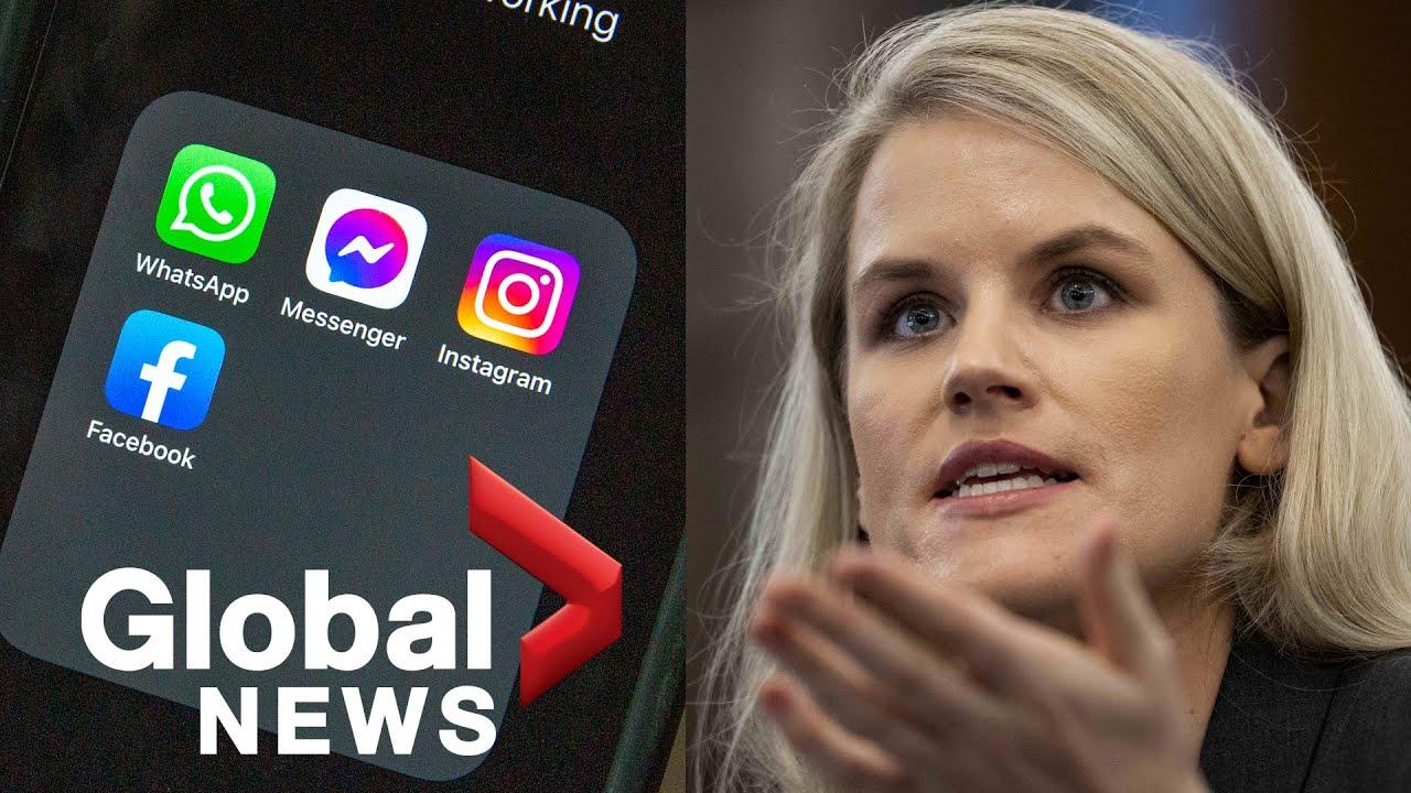 Facebook whistleblower testifies company