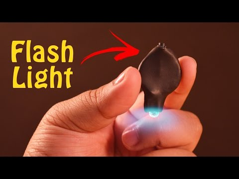 How to make a Tiny Key Chain Flash Light at Home