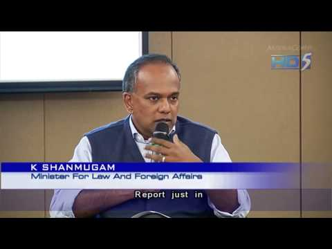 K Shanmugam: Cyber hacking akin to terrorism if it endangers lives - 20Nov2013