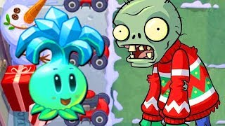 Der WINTER wird KALT - Plants Vs. Zombies 2 Gameplay German