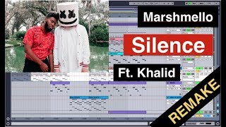 Marshmello Ft. Khalid Silence (Remake) Using ONLY Ableton Sounds