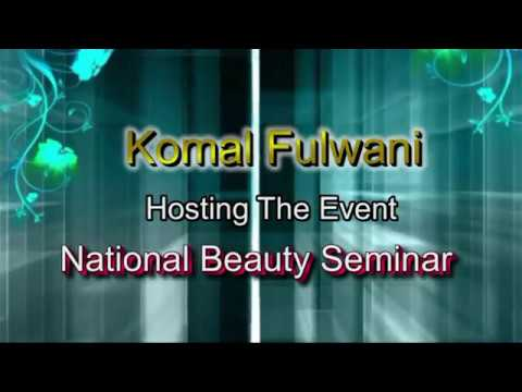 Anchoring by Komal FUlwani/Beauty Seminar/Deep Bridal  Collection