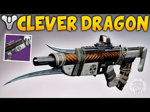 Destiny: THIS WEAPON MELTS! Clever Dragon Iron Banner Pulse Rifle Review (Rise of Iron Gameplay)