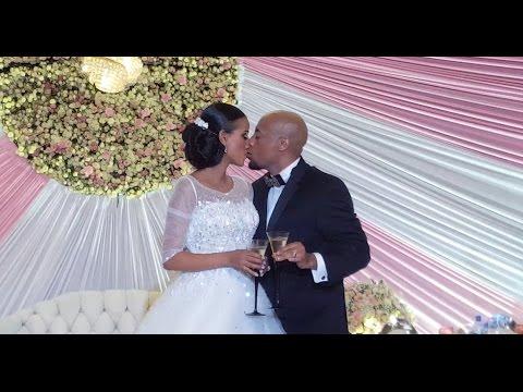 seifu and veronica wedding ceremony watch the kiss youtube