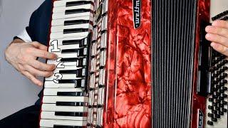 Уроки аккордеона с нуля #1(практикум)