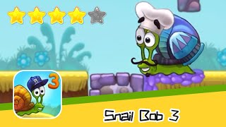 Snail Bob 3 Level 13-15 Walkthrough Beyond The Sky Recommend index four stars