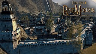 The White City Under Siege! - Total War: Rise Of Mordor Gameplay