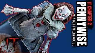 Diamond Select IT Chapter 2 Pennywise in a Box Gallery Statue | Video Review