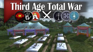 Wedding Crasher - Third Age Total War (3v3 Online Siege Battle #21)