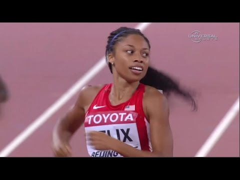 Allyson Felix becomes 400m World Champ - Universal Sports ...